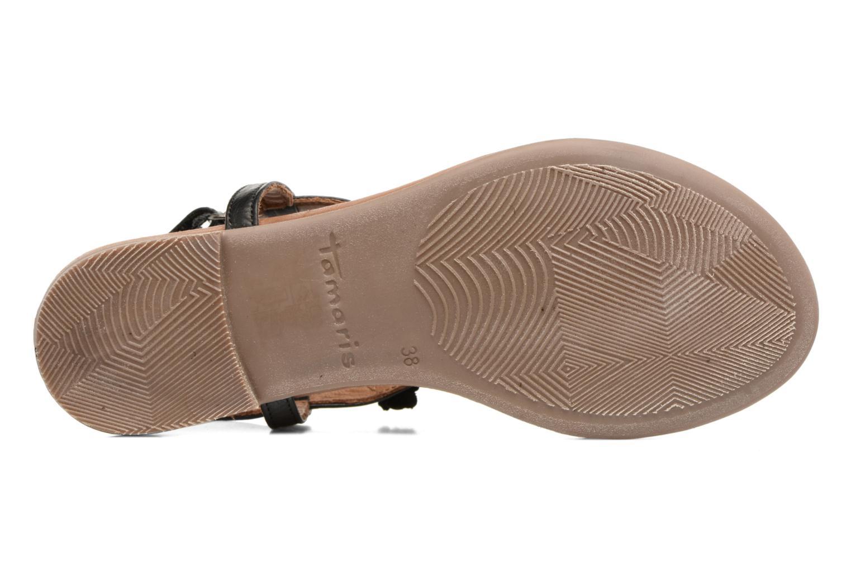 Sandales et nu-pieds Tamaris Sanve Noir vue haut