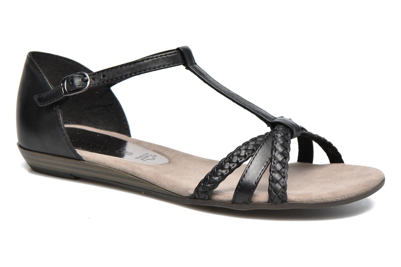 Sandaler Tamaris Carthame Sort detaljeret billede af skoene