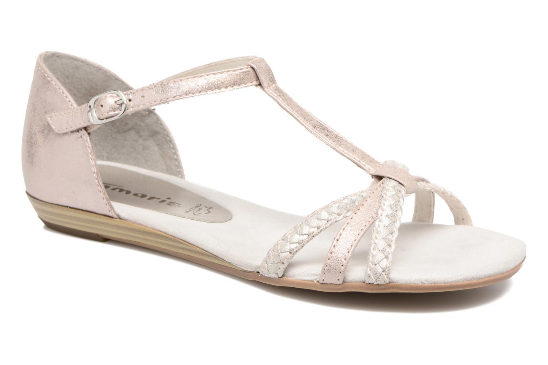 Sandaler Tamaris Carthame Pink detaljeret billede af skoene