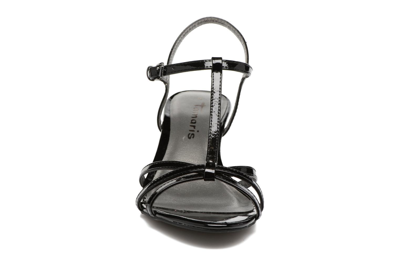 Sandales et nu-pieds Tamaris Carline Noir vue portées chaussures