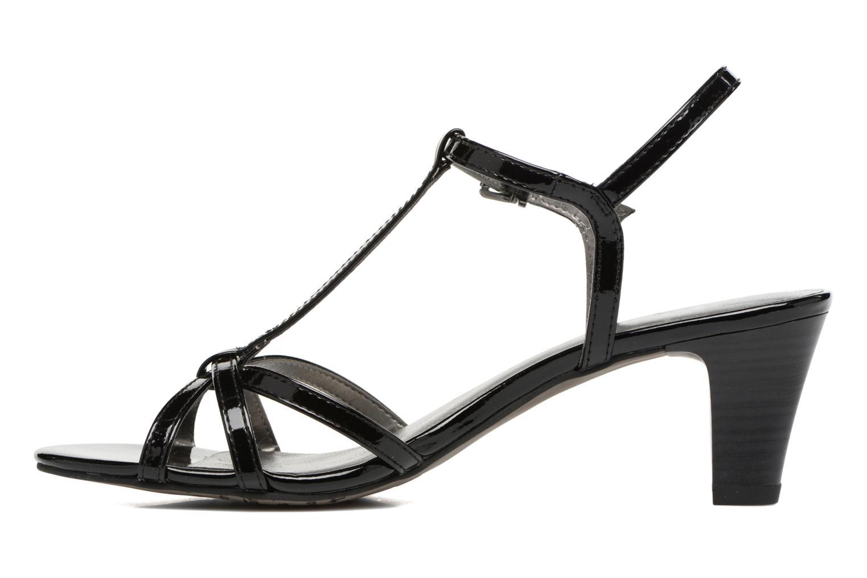 Sandales et nu-pieds Tamaris Carline Noir vue face