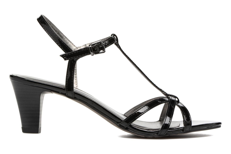 Sandales et nu-pieds Tamaris Carline Noir vue derrière