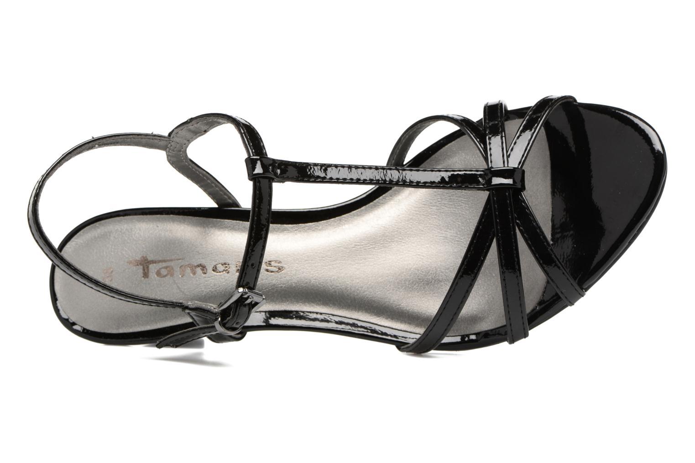 Sandales et nu-pieds Tamaris Carline Noir vue gauche