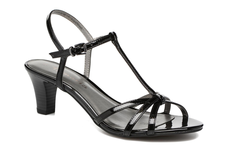 Sandales et nu-pieds Tamaris Carline Noir vue détail/paire