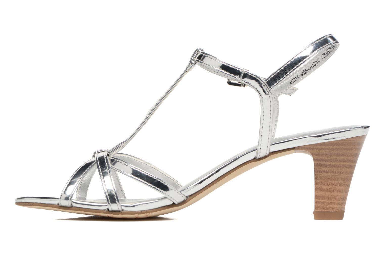 Sandales et nu-pieds Tamaris Carline Argent vue face