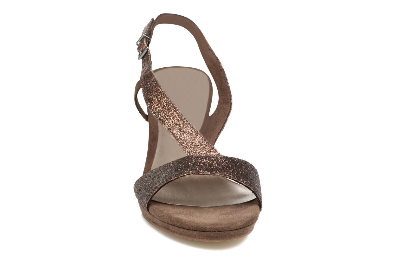 Høje hæle Tamaris Ammy Guld og bronze se skoene på