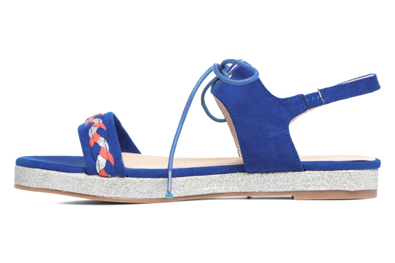 Sandales et nu-pieds Divine Factory Oko Bleu vue face