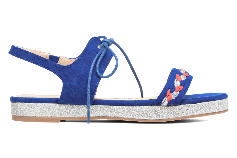 Sandales et nu-pieds Divine Factory Oko Bleu vue derrière