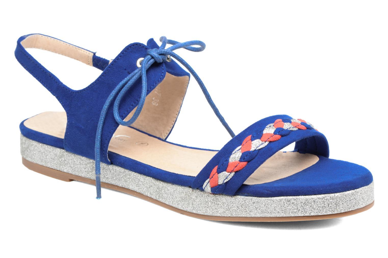 Sandales et nu-pieds Divine Factory Oko Bleu vue détail/paire