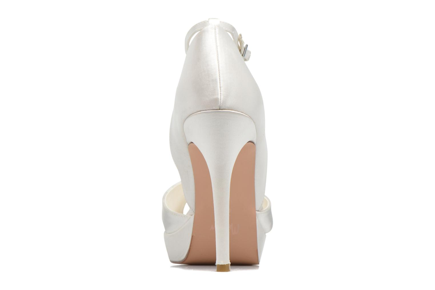 High heels Menbur FE White view from the right