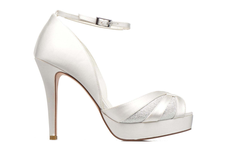 High heels Menbur FE White back view