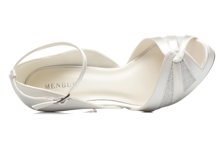 High heels Menbur FE White view from the left