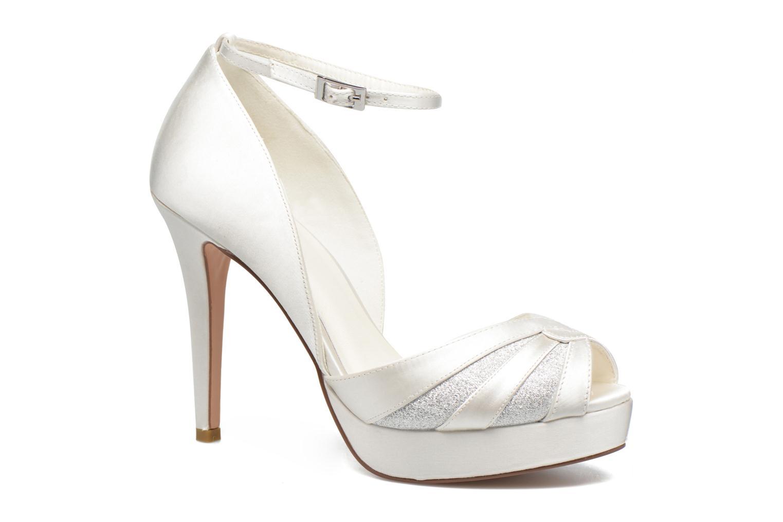 High heels Menbur FE White detailed view/ Pair view