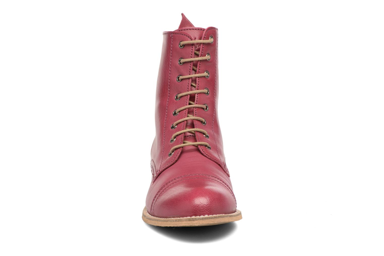 Ankle boots Ippon Vintage Denim Road Burgundy model view