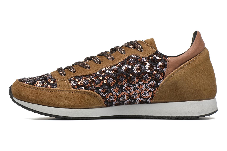 Sneakers Ippon Vintage Run Luxury Brun se forfra