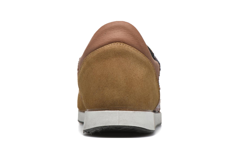 Sneakers Ippon Vintage Run Luxury Brun Se fra højre