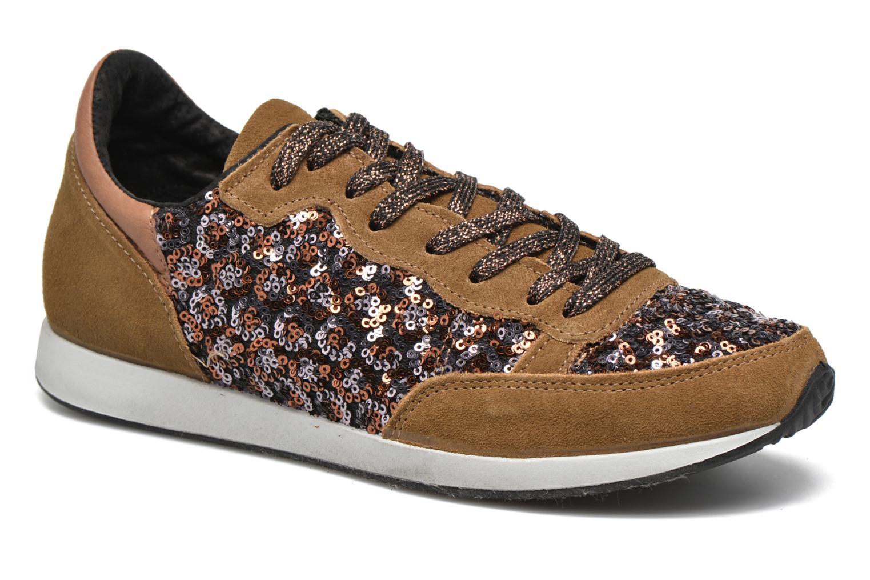 Sneakers Ippon Vintage Run Luxury Brun detaljeret billede af skoene
