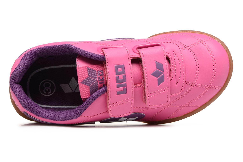 Bernie V Pink lila Weiss