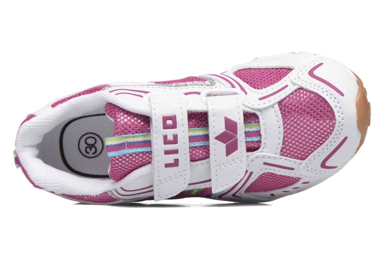 Silverstar V Weiss pink silber
