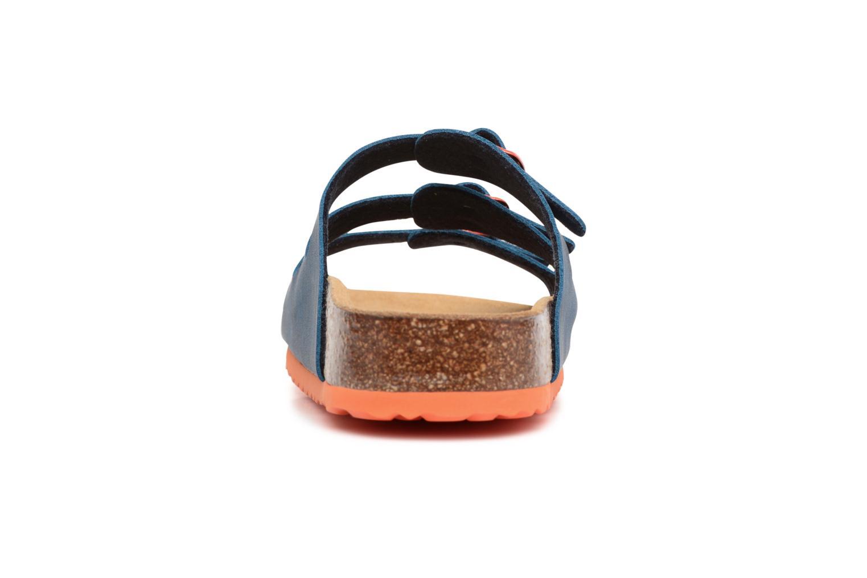 Sandales et nu-pieds LICO Bioline Kids Bleu vue droite