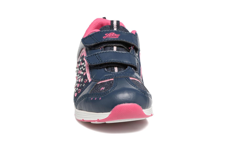 Baskets LICO Shine V Bleu vue portées chaussures