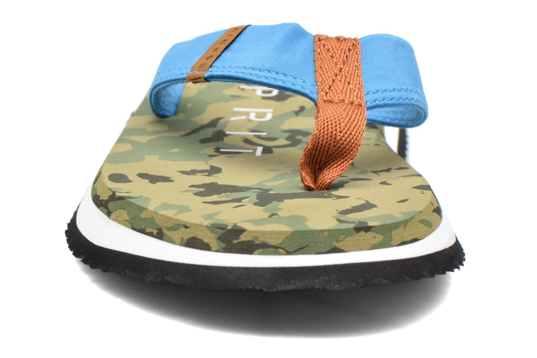 Tongs Esprit CAMOU SURF Vert vue portées chaussures