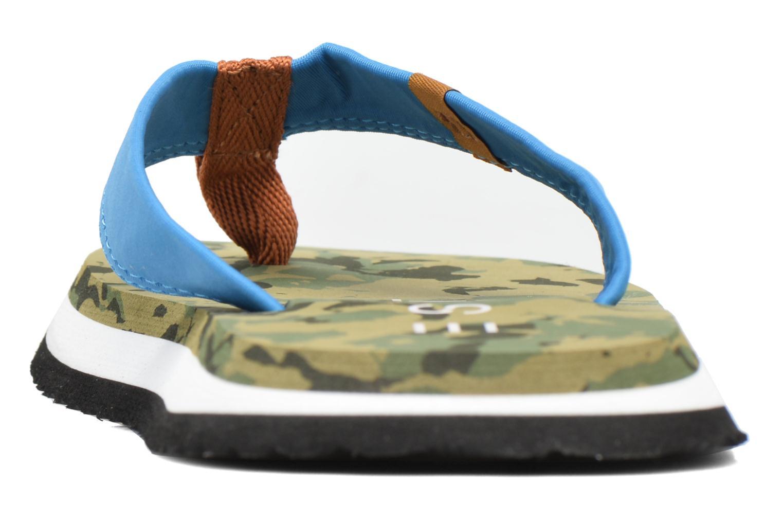 Tongs Esprit CAMOU SURF Vert vue droite