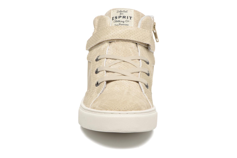 Baskets Esprit FILOOU BOOTIE Beige vue portées chaussures
