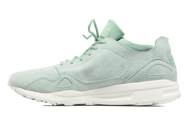 Sneakers Le Coq Sportif Lcs R Flow Nubuck Verde immagine frontale