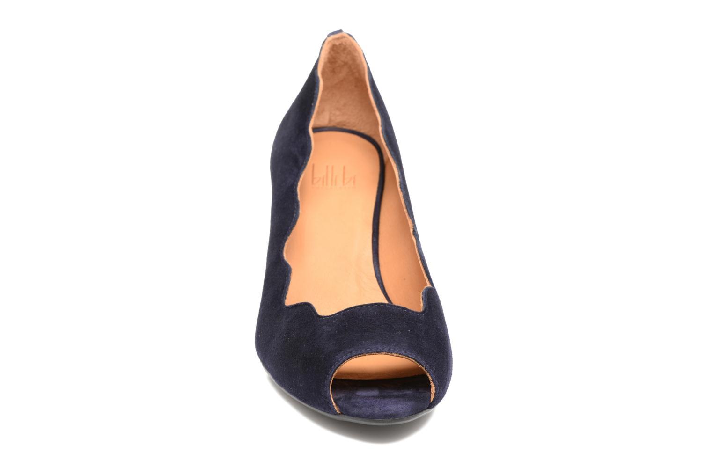 Escarpins Billi Bi Ischia Bleu vue portées chaussures