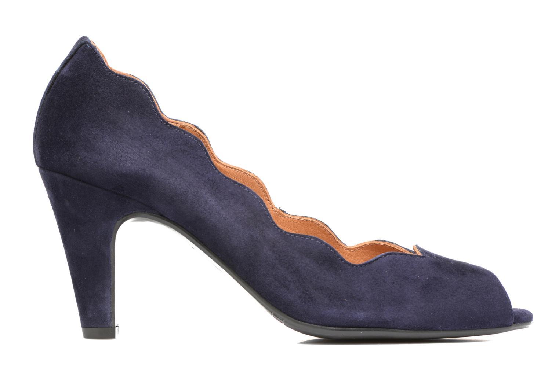Escarpins Billi Bi Ischia Bleu vue derrière