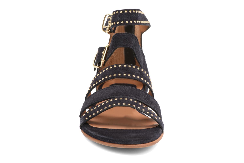 Sandales et nu-pieds Billi Bi Cortina Bleu vue portées chaussures