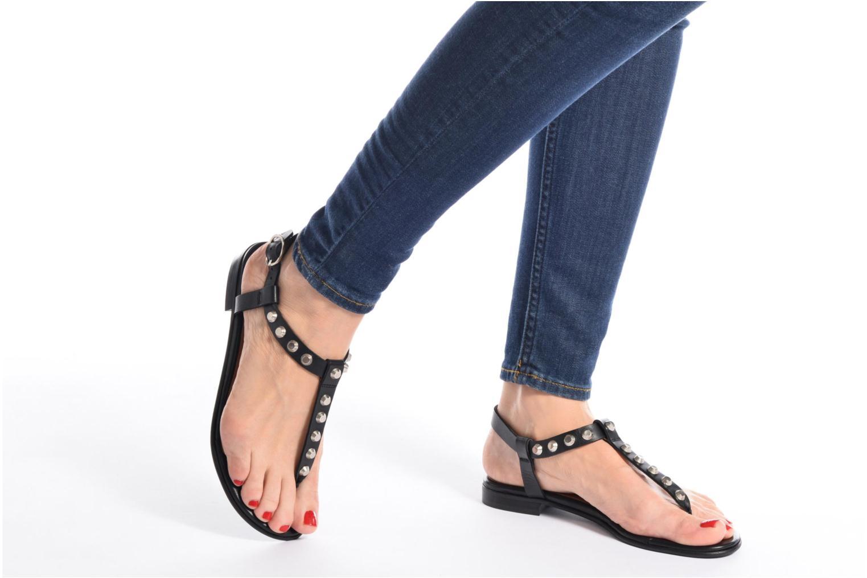Sandales et nu-pieds Billi Bi Amarena Noir vue bas / vue portée sac