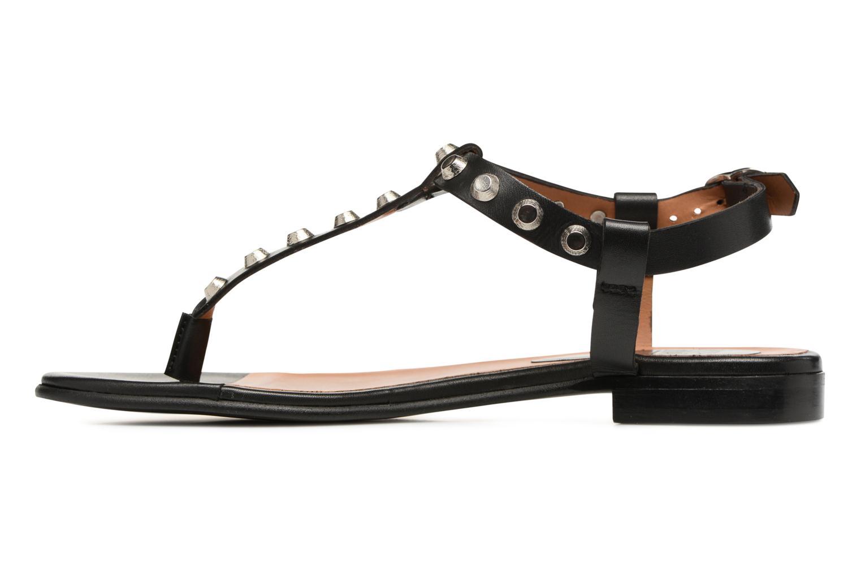 Sandales et nu-pieds Billi Bi Amarena Noir vue face