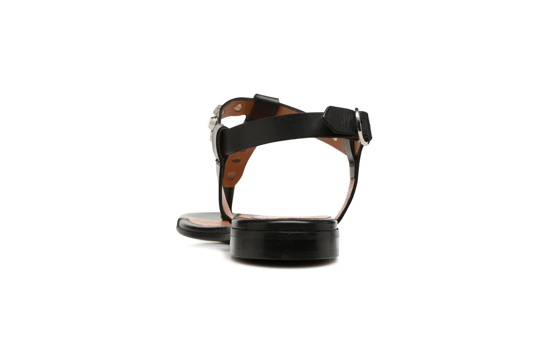 Sandales et nu-pieds Billi Bi Amarena Noir vue droite