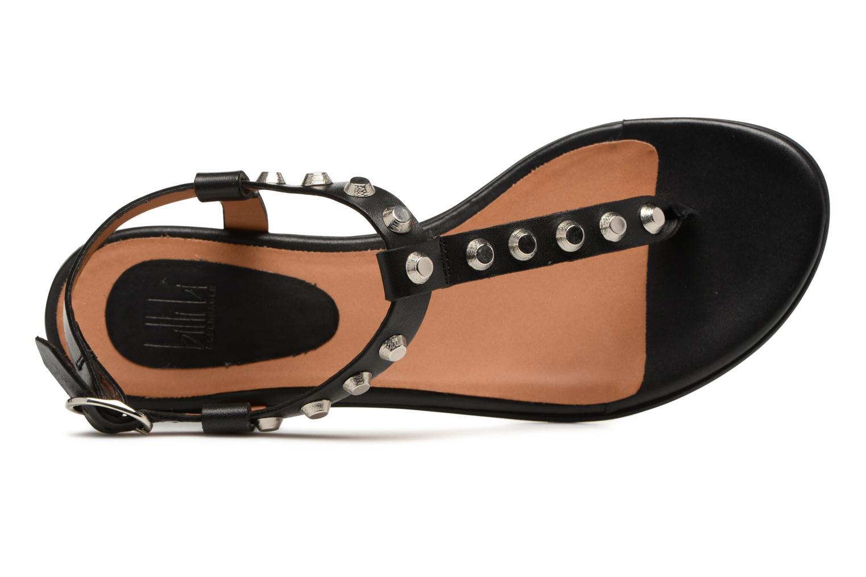 Sandales et nu-pieds Billi Bi Amarena Noir vue gauche