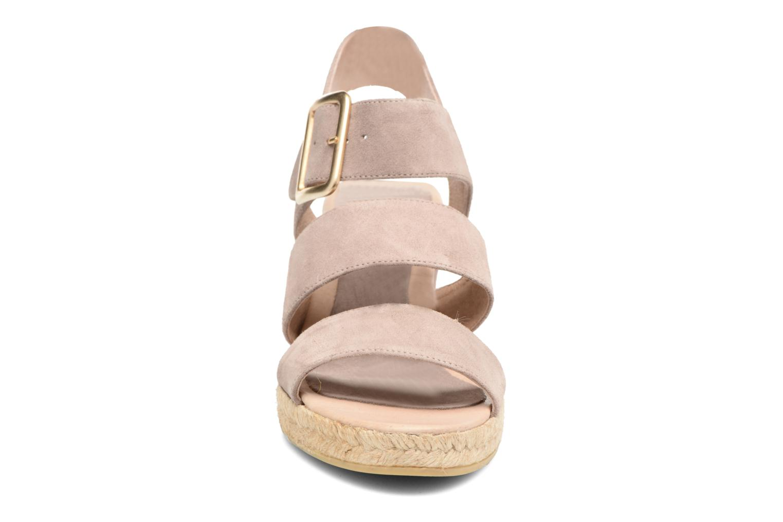 Sandales et nu-pieds Billi Bi Eléa Marron vue portées chaussures