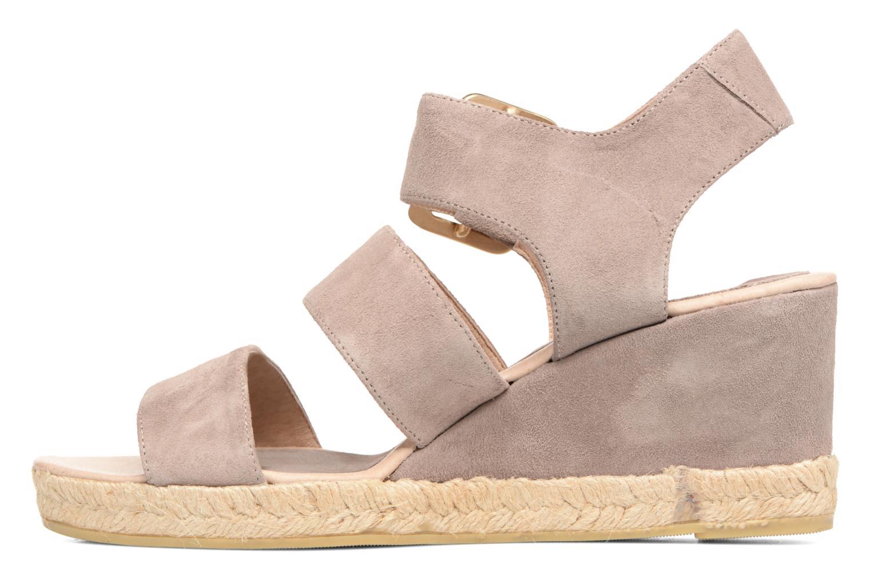 Sandales et nu-pieds Billi Bi Eléa Marron vue face