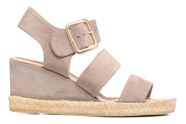 Sandales et nu-pieds Billi Bi Eléa Marron vue derrière