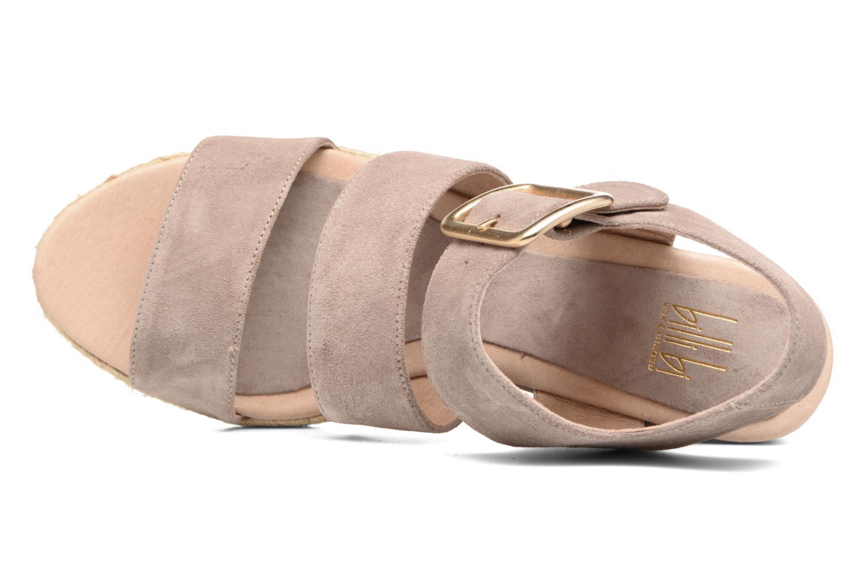 Sandales et nu-pieds Billi Bi Eléa Marron vue gauche