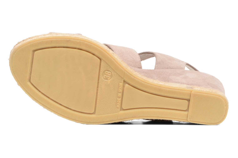 Sandales et nu-pieds Billi Bi Eléa Marron vue haut