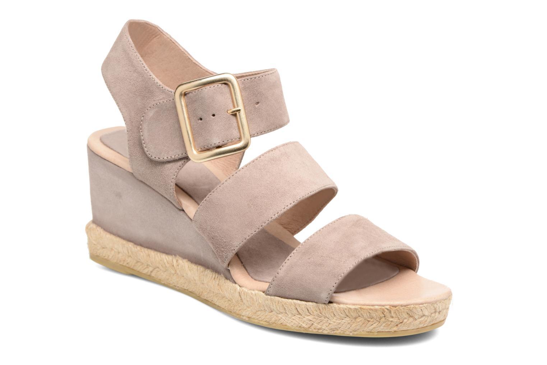 Sandales et nu-pieds Billi Bi Eléa Marron vue détail/paire