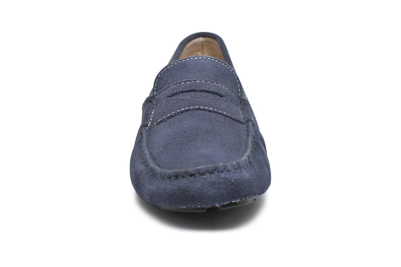 Mocassins Roadsign Ulysse Bleu vue portées chaussures