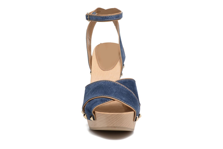 Sandales et nu-pieds Sonia Rykiel Sandale Sabot Bleu vue portées chaussures