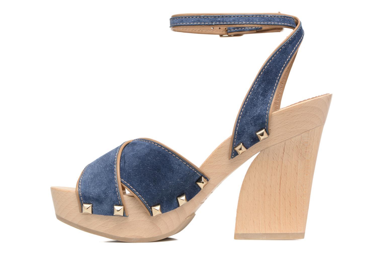 Sandales et nu-pieds Sonia Rykiel Sandale Sabot Bleu vue face
