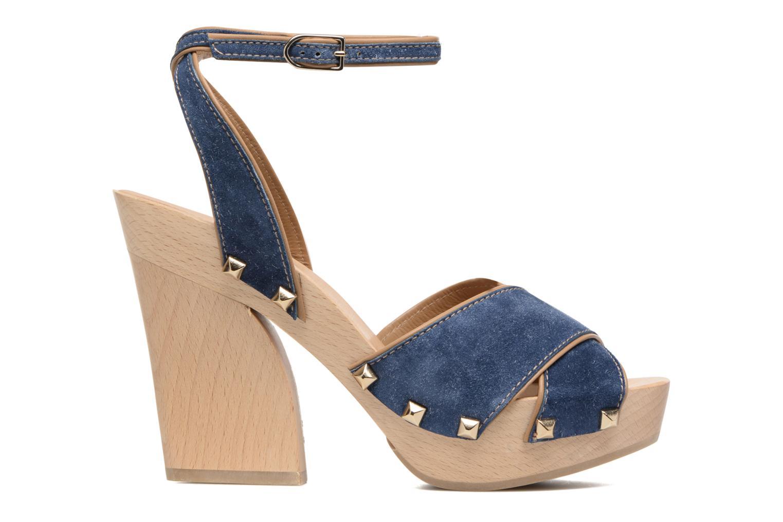 Sandales et nu-pieds Sonia Rykiel Sandale Sabot Bleu vue derrière