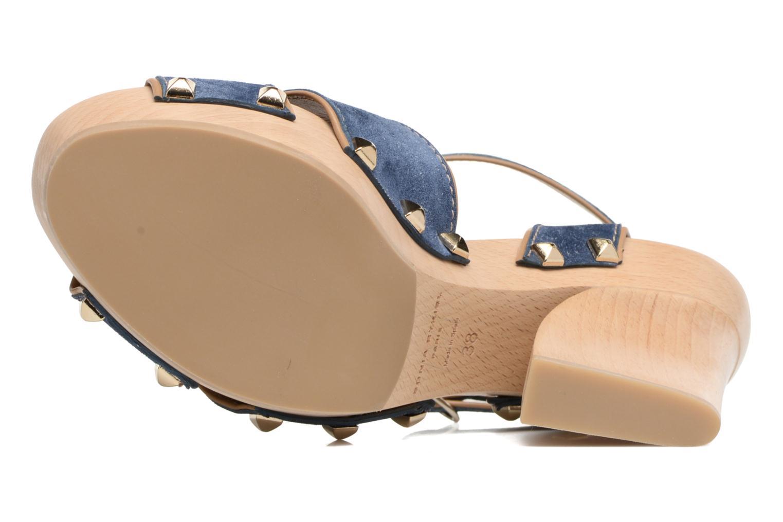 Sandales et nu-pieds Sonia Rykiel Sandale Sabot Bleu vue haut