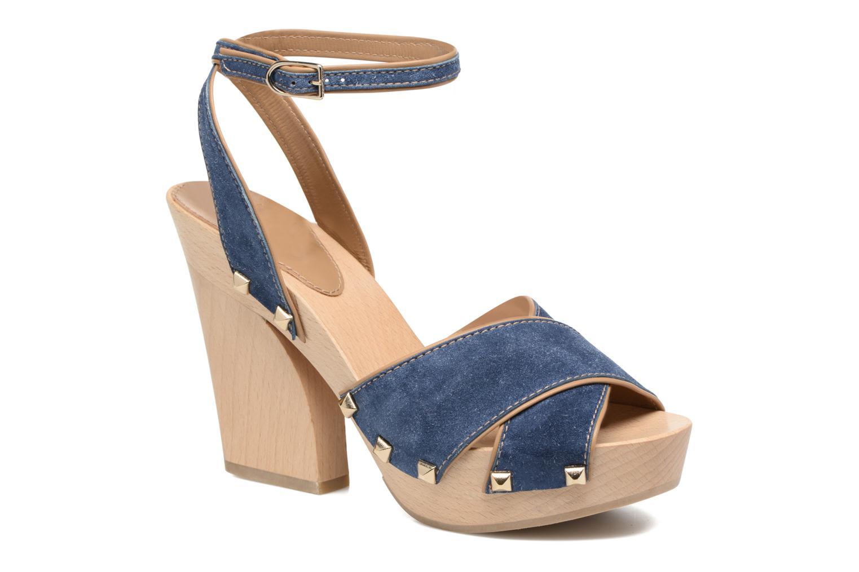Sandales et nu-pieds Sonia Rykiel Sandale Sabot Bleu vue détail/paire