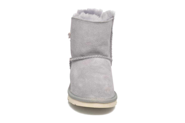 Bottes UGG Kid's Adoria Tehuano Gris vue portées chaussures