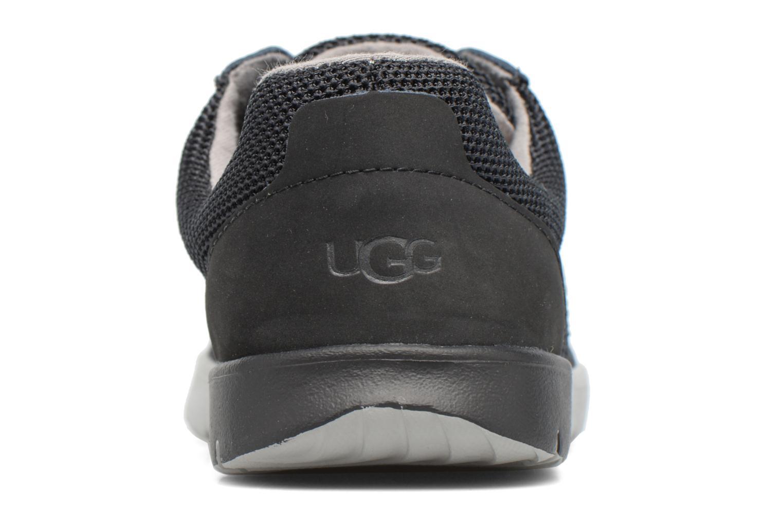 Baskets UGG K Ellerson Knit Noir vue droite